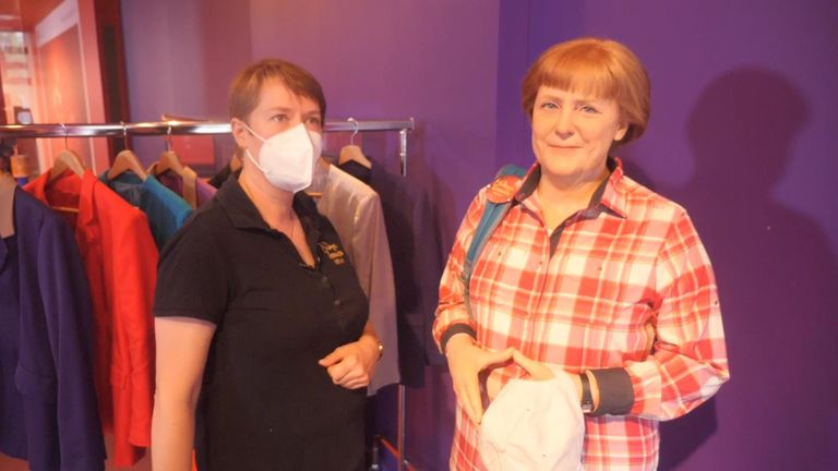 Madam Tussaud's studio assistant Karen Fries says it will be strange when she is gone