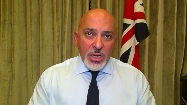 Vaccines minister Nadhi Zahawi says 'lockdowns will be an absolutely last resort'