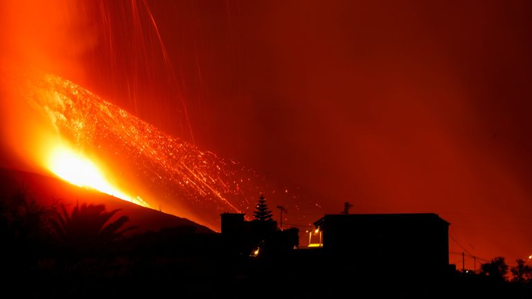 More towns were evacuated as the volcano eruption continues
