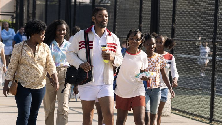 Will Smith leads in King Richard. Pic: Warner Bros