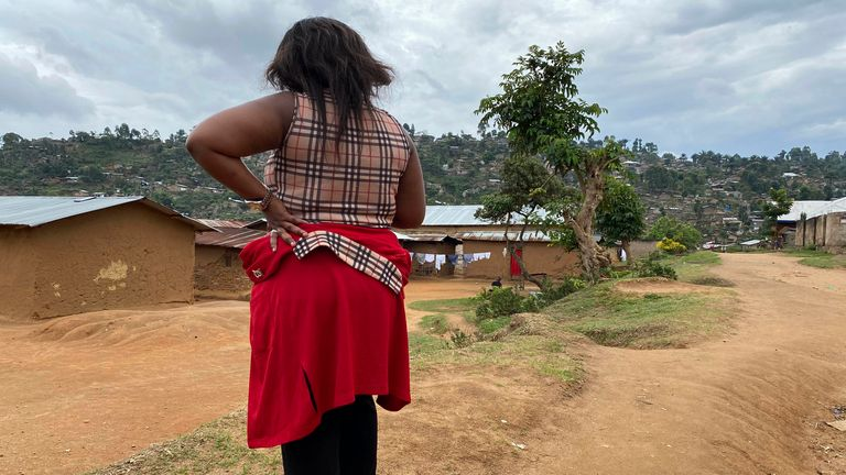 One of the alleged victims AP says was involved in sex abuse during the World Health Organisation's Ebola response in the Democratic Republic of the Congo. Pic: AP