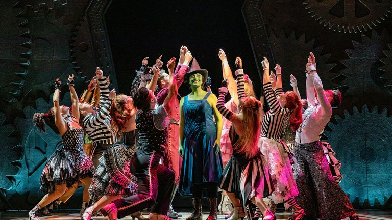 Wicked has reopened at the Apollo Victoria. Pic: Mark Senior