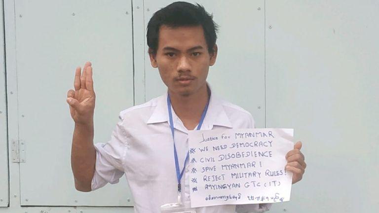 Zin Ko Tun. Pic: Facebook