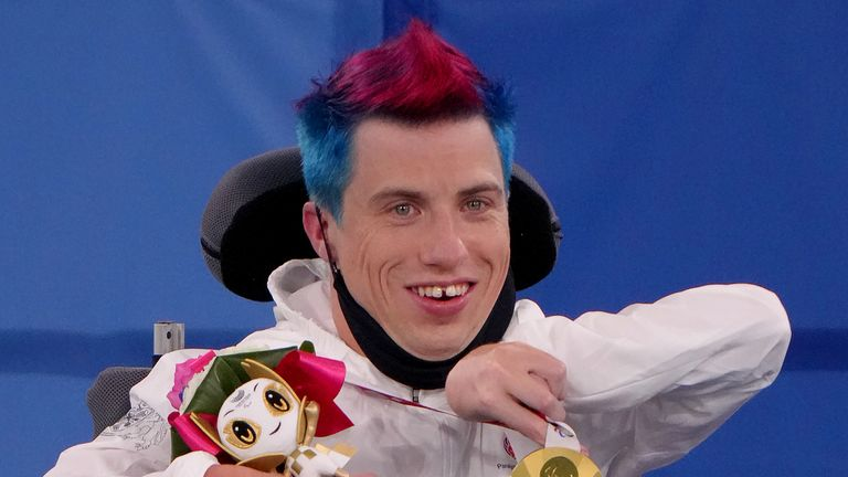 David Smith retained his BC1 individual Boccia title on Wednesday to claim his fifth Paralympic medal