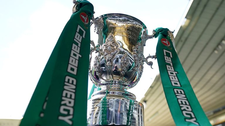 Carabao Cup trophy (PA)