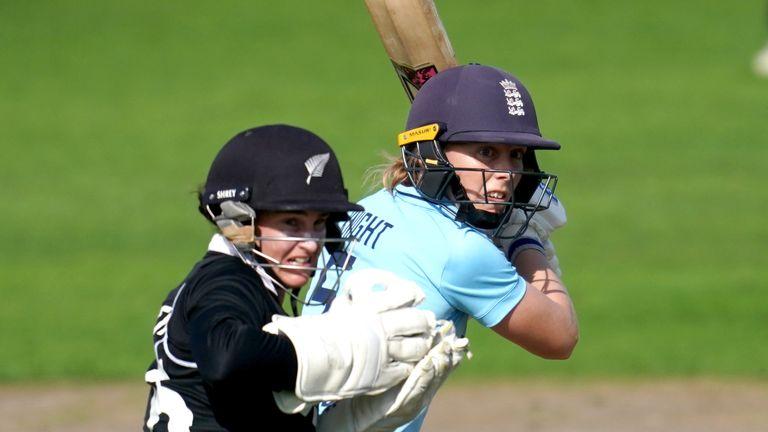 England's Heather Knight (PA)
