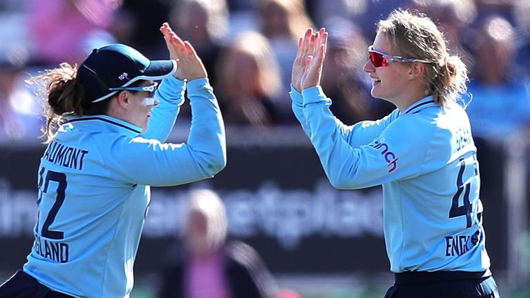 Tammy Beaumont and Charlie Dean, England (PA Images)