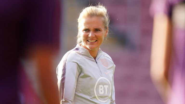 Sarina Wiegman is preparing to take charge of her first England Women's games with the World Cup qualifiers against North Macedonia and Luxembourg