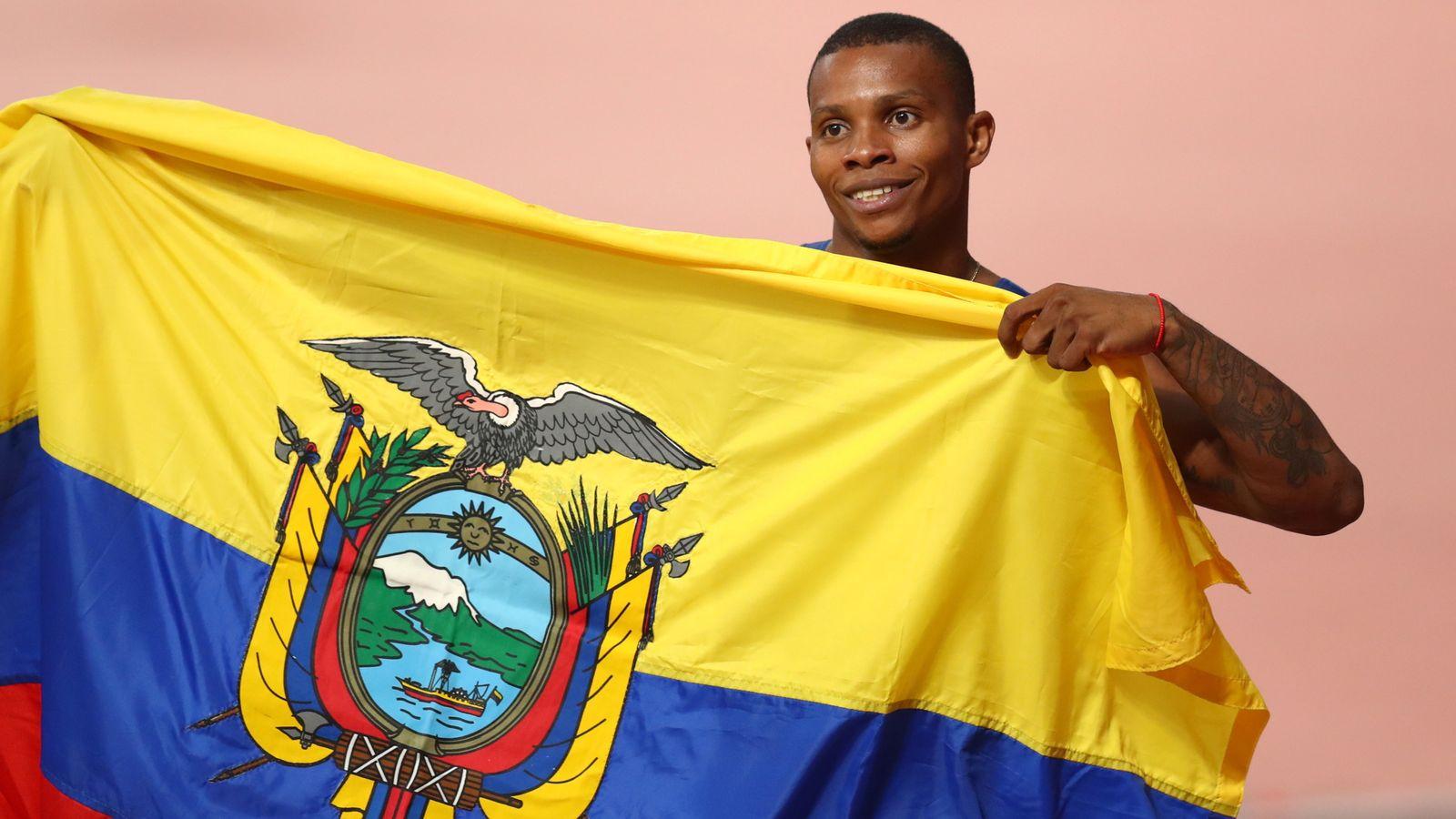 Alex Quinonez: Ecuadorian sprinter who became national hero at London 2012 shot dead - Sky News