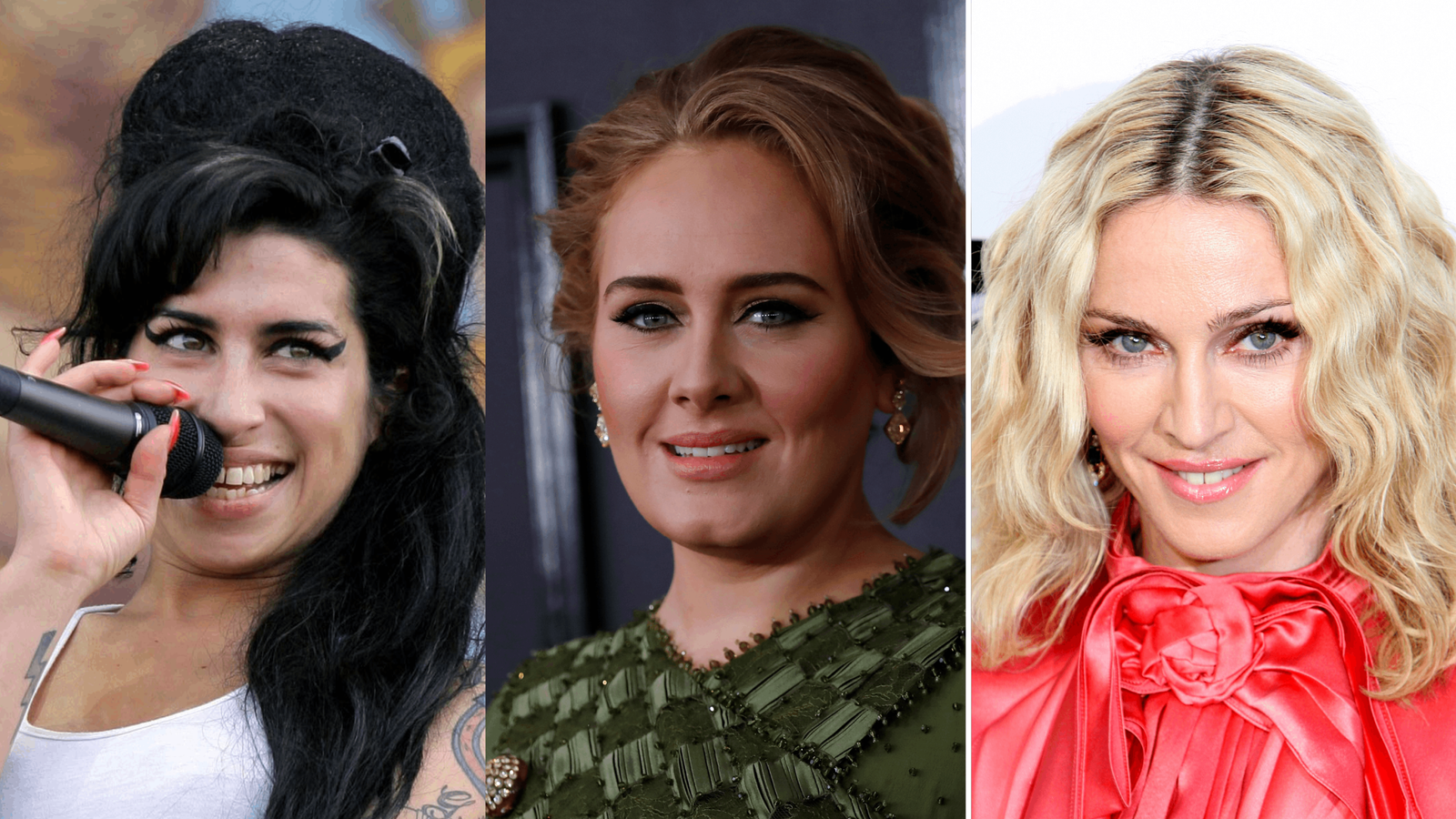 Adele's 21 tops charts as best-selling women singers in UK revealed ahead of Amy Winehouse and Madonna