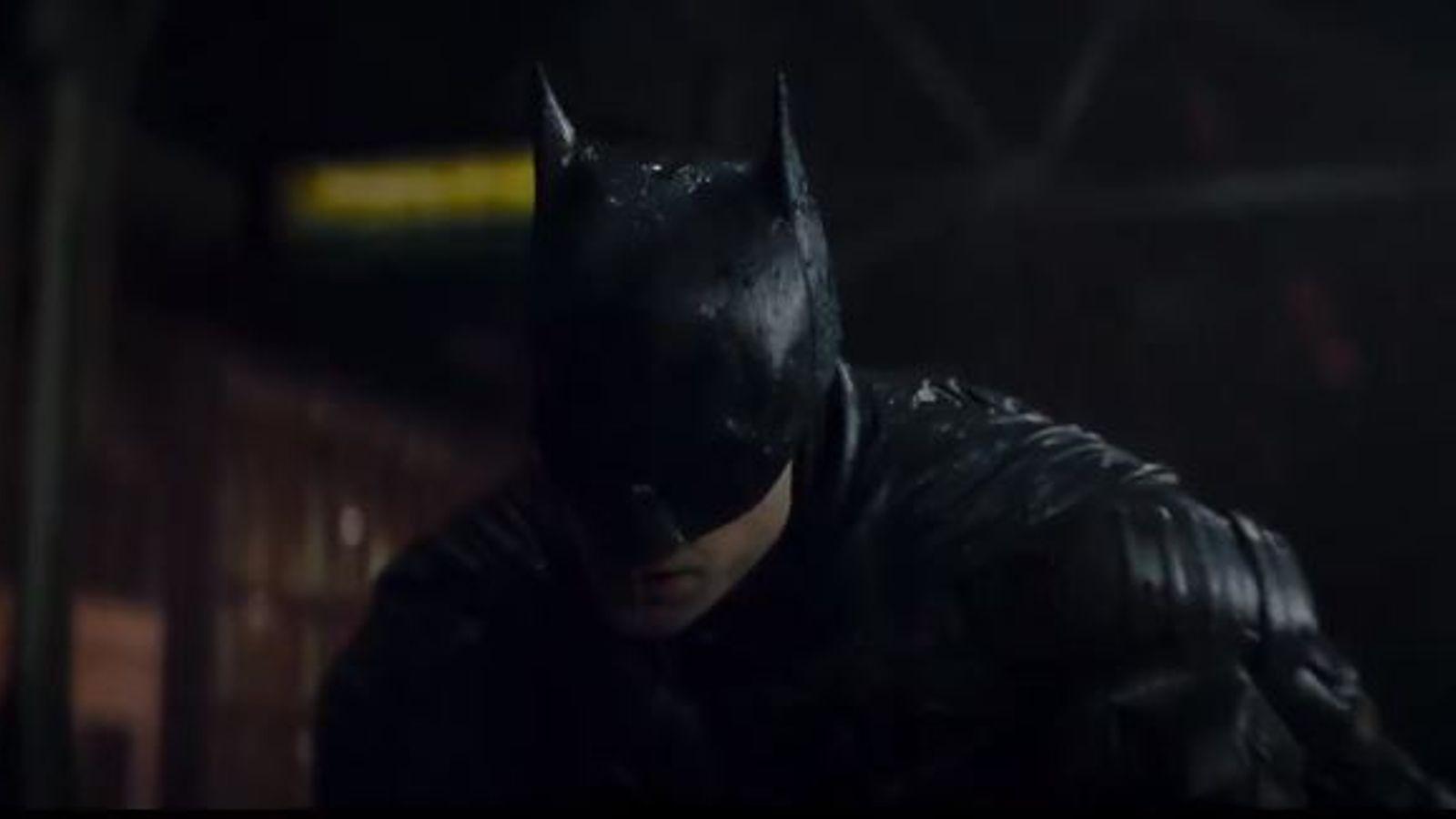 The Batman trailer reveals darker side of comic book hero