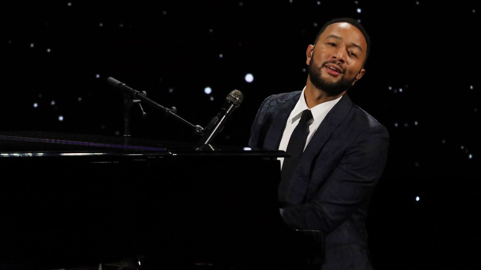 John Legend: This busker was singing one of his hits. Little did she know that he was in the audience