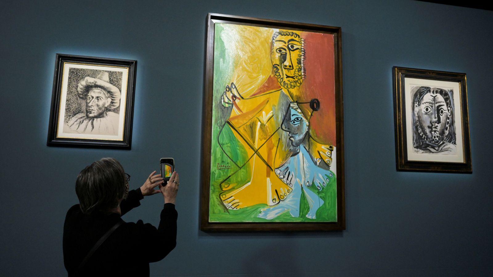 Picasso artworks fetch more than 0m in lavish Las Vegas auction