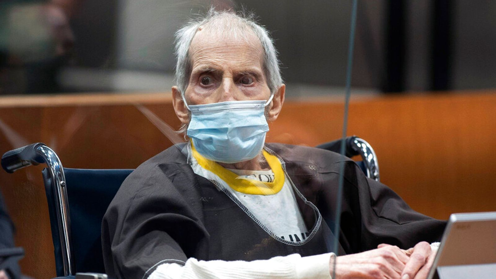 Robert Durst: Millionaire on ventilator with COVID – days after being sentenced to life in prison for murder