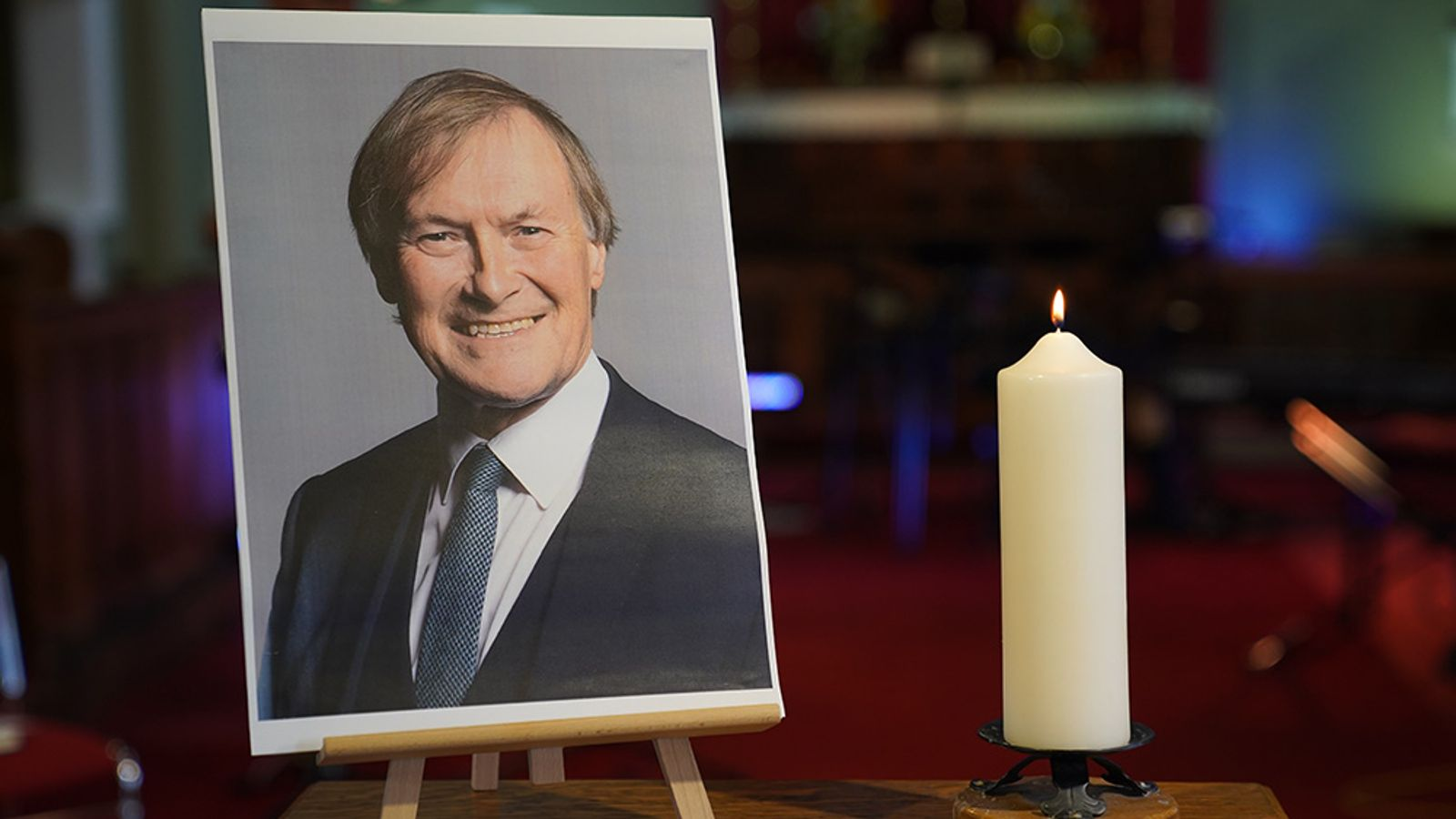 Sir David Amess murder: MP's family says they are 'absolutely broken, but we will survive'