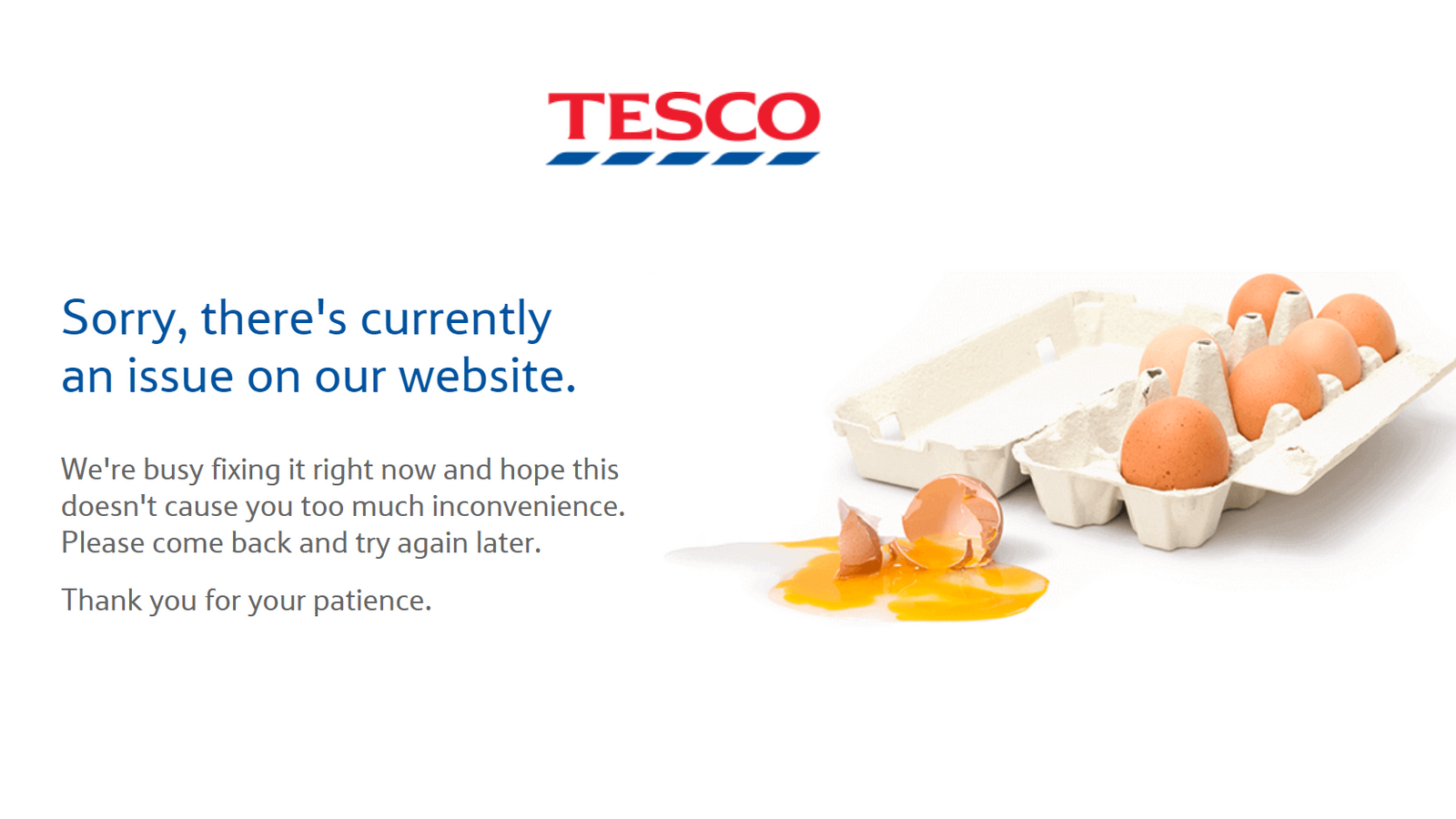 Tesco website and app disrupted following 'attempt to interfere with our systems'