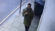 Ali Harbi Ali in Gospel Oak, north London