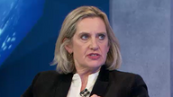 Amber Rudd said she was unaware of the misogyny on The Great Debate
