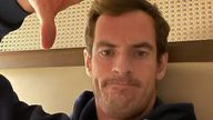 Andy Murray reveals he's in wife Kim's bad books after his wedding ring was stolen. Pic: Instagram