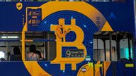 Some countries want to ban Bitcoin altogether - India and China among them - but doing this is easier said than done. Pic: AP
