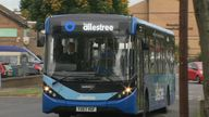 Services through the Derby suburb Allestree were among those affected this week