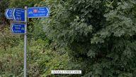 The incident happened near Three Bridges, Crawley
