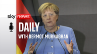 Angela Merkel, who has served as Germany's Chancellor for 16 years.