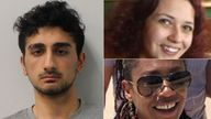 Danyal Hussein, 19, jailed for at least 35 years for murdering two sisters Bibaa Henry and Nicole Smallman
