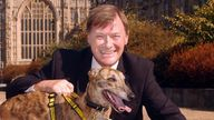 File photo dated 17/09/03 of David Amess, MP for Southend West in Essex, outside the Houses of Parliament in Westminster, London. Conservative MP Sir David Amess has reportedly been stabbed several times at a surgery in his Southend West constituency. Issue date: Friday October 15, 2021.