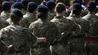 File photo dated 27/6/2015 of soldiers marching. Women serving in the UK military face a considerable risk of emotional bullying, sexual harassment and physical assault, a study has found. Those who are younger, have held the rank of officer, or had a combat or combat support role were the most likely to have suffered such treatment, according to a study published in the BMJ Military Health journal. Issue date: Tuesday October 26, 2021.