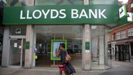 A branch of Lloyds Bank on Oxford Street, central London. Picture by: Yui Mok/PA Archive/PA Images Date taken: 29-May-2018