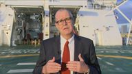Sir Patrick Vallance on SKy news