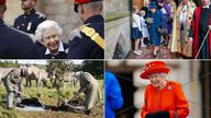In the past month the Queen has taken part in more than a dozen engagements around the country