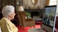 Instagram Picture from theroyalfamily Instagram @theroyalfamily Today The Queen received two Ambassadors in audience via video link from Windsor Castle.