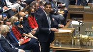 Chancellor of the Exchequer Rishi Sunak delivering his Budget to the House of Commons in London. Picture date: Wednesday October 27, 2019.