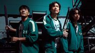 The tense psychological thriller sees friendships and rivalries form. Pic: Netflix/Youngkyu Park