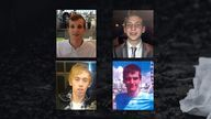 Top left to top right: Gabriel Kovari, Jack Taylor. Bottom left to bottom right: Anthony Walgate, Daniel Whitworth