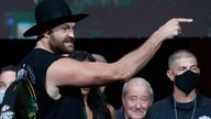 Fury taunted Wilder with threats of another dominant victory