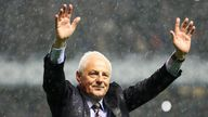 File photo dated 10-05-2011 of Ranger's Walter Smith after his last match at Ibrox. Former Scotland, Rangers and Everton manager Walter Smith has died aged 73, Rangers have announced. Issue date: Tuesday October 26, 2021.
