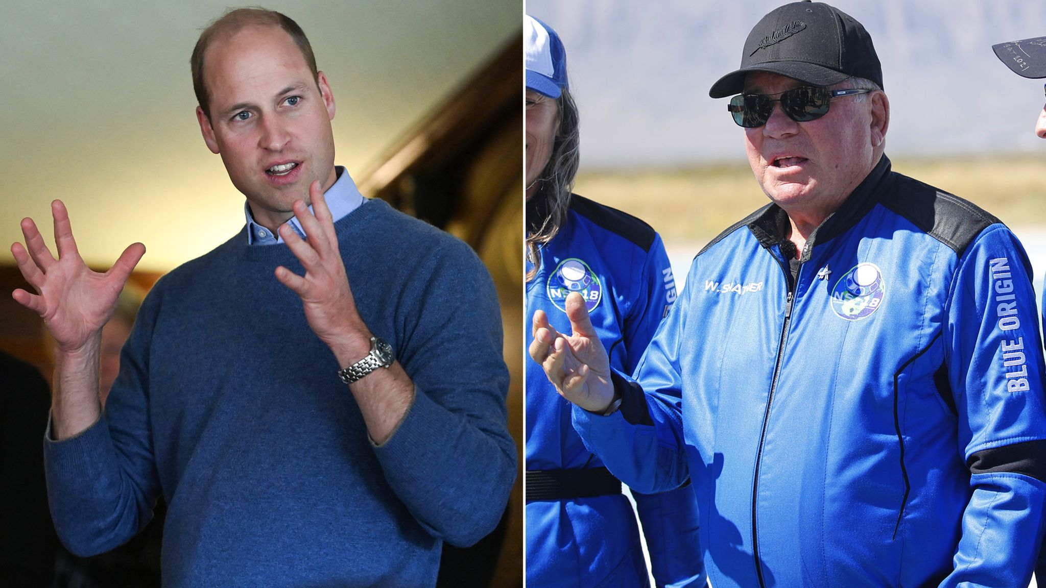 William Shatner hits back at Prince William's criticism of space travel ...