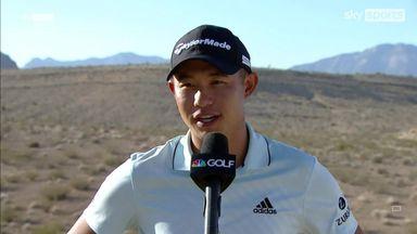 Morikawa enjoys fast finish in Vegas