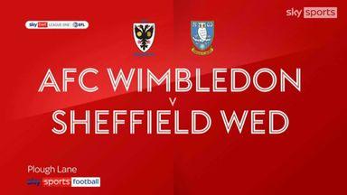 AFC Wimbledon 2-2 Sheffield Wednesday