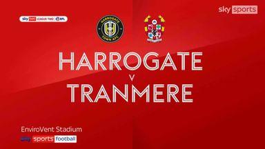 Harrogate 2-2 Tranmere