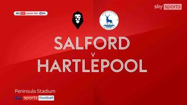 Salford 2-0 Hartlepool
