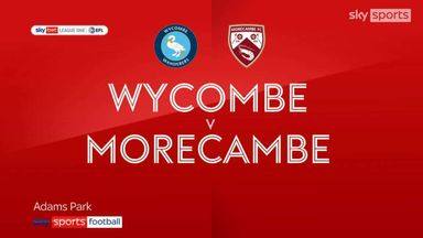 Wycombe 4-3 Morecambe