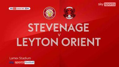 Stevenage 0-0 Leyton Orient
