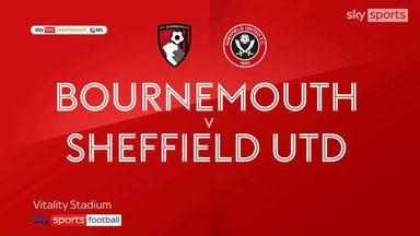 Bournemouth 2-1 Sheffield United
