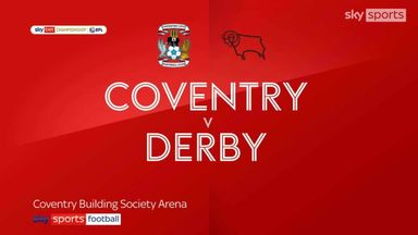 Coventry 1-1 Derby