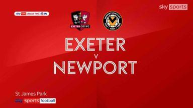 Exeter 2-2 Newport