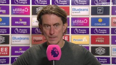 Frank: 'We absolutely battered Leicester'